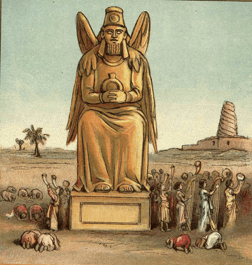 Idolatría babilónica